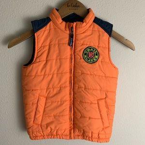 Boys genuine kids Oshkosh puffer Vest Size 5T